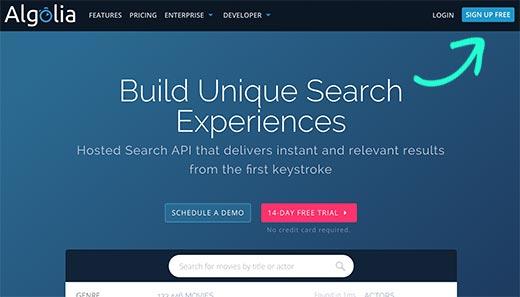 جستجوی سریع مطالب وردپرس با افزونه Algolia