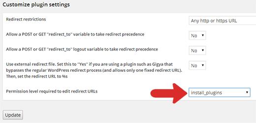 ریدایرکت کاربران به صفحه خاص پس از لاگین کردن در وردپرس با افزونه Peter's Login Redirect