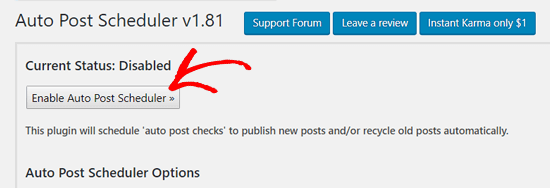 زمان بندی انتشار خودکار نوشته های وردپرس