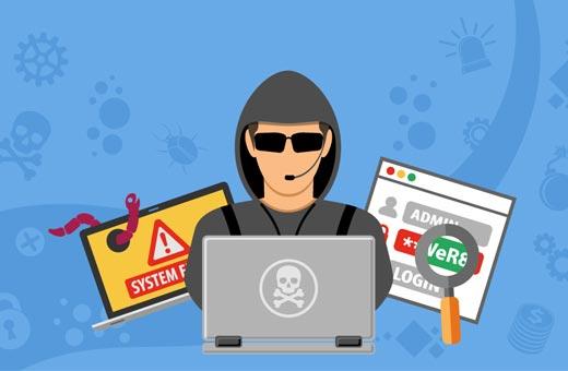نشانه هک شدن وردپرس